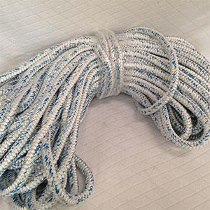 200 1//2 Arborist Rigging Double Braided Rope Platinum