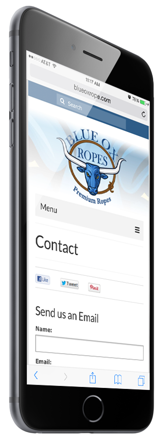 contact blue ox rope